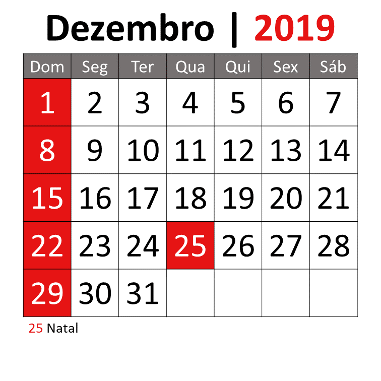 Calendario Dezembro 2019 Png.Dezembro Self Storage Smartbox
